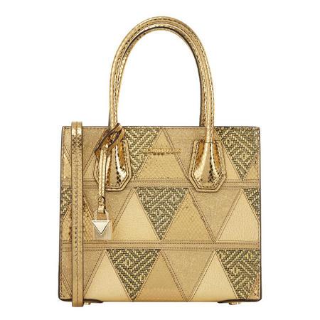 fb44b7cb849d Mercer Metallic Patchwork Leather Crossbody Bag Gold-Tone