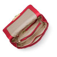 Sloan Large Quilted Leather Shoulder Bag Red