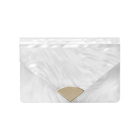Barbara Clutch Bag White