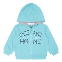 Babies Ocean Printed Hoody Blue