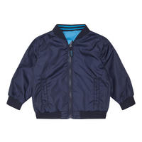 Babies Reversible Bomber Jacket Navy