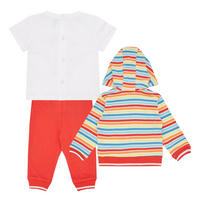 Babies Three-Piece Striped Outfit Set