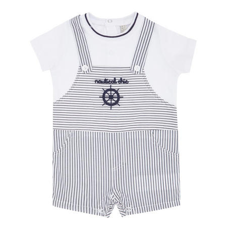 Babies Sailor All-In-One White