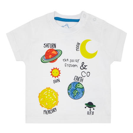 Babies Space T-Shirt White