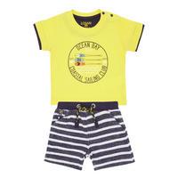 Babies Sailing T-Shirt And Shorts Set Yellow