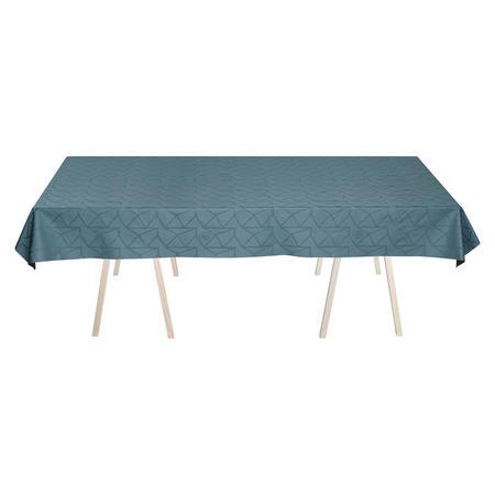 Arne Jacobsen Dusty Blue Tablecloth