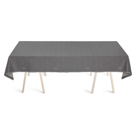 Engesvik By Hand Winter Grey Tablecloth