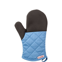 Oven Mitt Green Blue