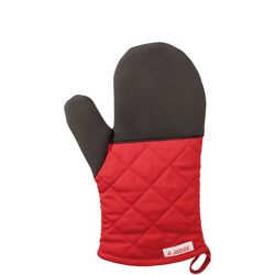 Traditioal Oven Mitt  Red