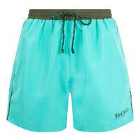 Starfish Swim Shorts Green