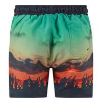 Beach Print Swim Shorts Multicolour
