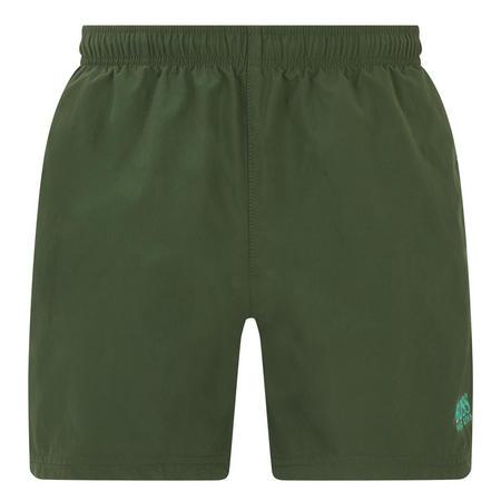 Perch Plain Swim Shorts Green