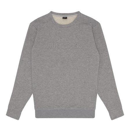 Logo Sweat Top Grey