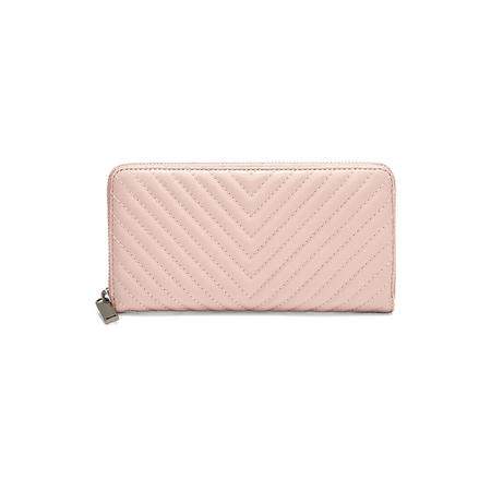 Love Continental Chevron Wallet Pink