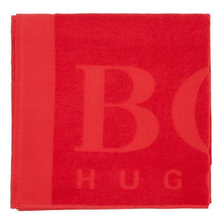 Logo Beach Towel Red