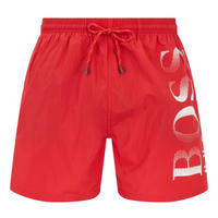 Octopus Swim Shorts Red