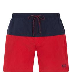 Flounder Swim Shorts Red