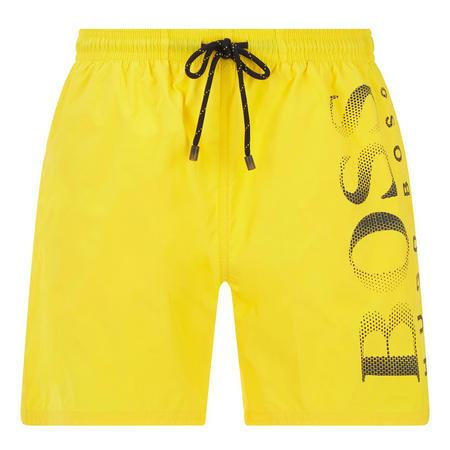 Octopus Swim Shorts Yellow