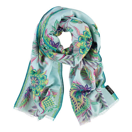 Abstract Bloom Scarf Multicolour