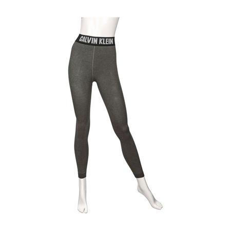 Modern Cotton Logo Leggings Grey