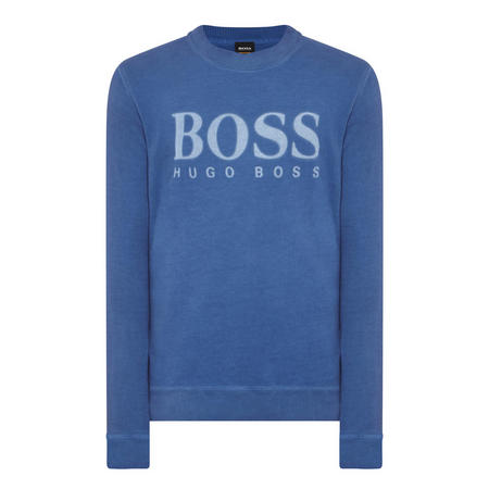 Walker Crew Neck Sweatshirt Blue