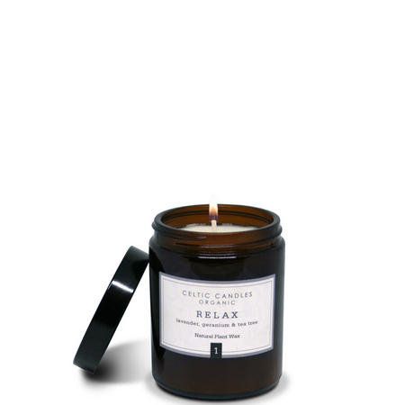 Relax Candle Brown