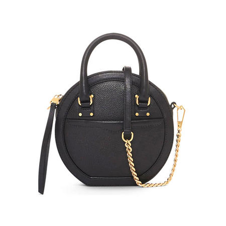 Bree Circle Crossbody Bag Black