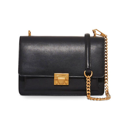 Christy Medium Shoulder Bag Black