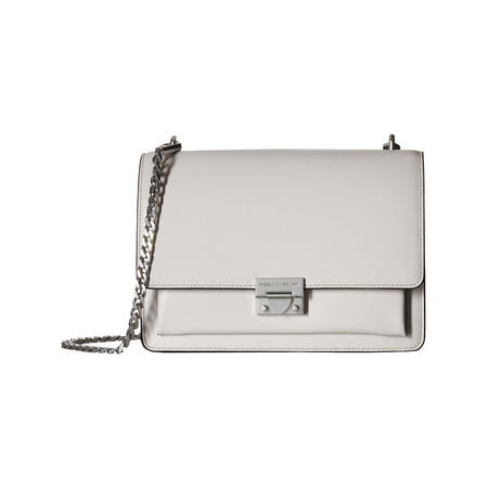 Christy Medium Shoulder Bag Grey