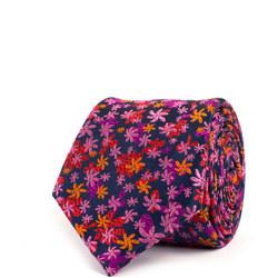 Mult-Floral Silk Tie