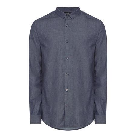Slim Fit Casual Shirt Grey