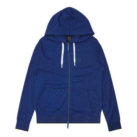 Zip-Up Sweatshirt Blue