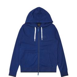 Zip-Up Sweatshirt Blue