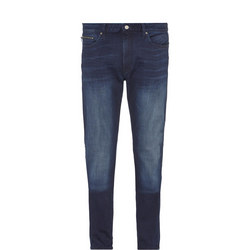 Tapered Fit Jeans Blue