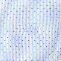 Dots and Stripes Shirt Blue