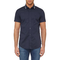 Button-Down Casual Shirt Navy