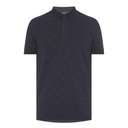 Logo Polo Shirt Navy