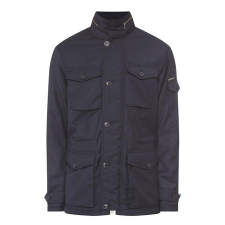 Four-Pocket Field Jacket Navy