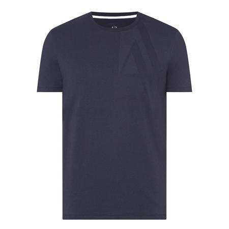 Rear Logo T-Shirt Black