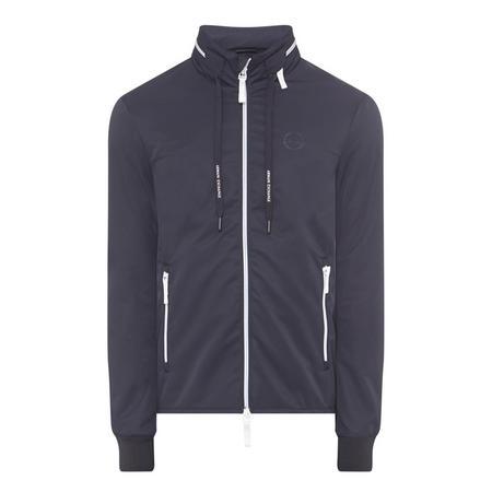 Windbreaker Concealed Hood Jacket