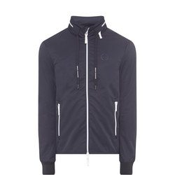 Windbreaker Concealed Hood Jacket