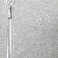 Zip-Through Sweatshirt Grey