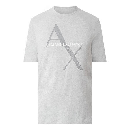 Diagonal Logo T-Shirt Grey