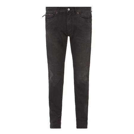 J22 Tapered Fit Jeans Black