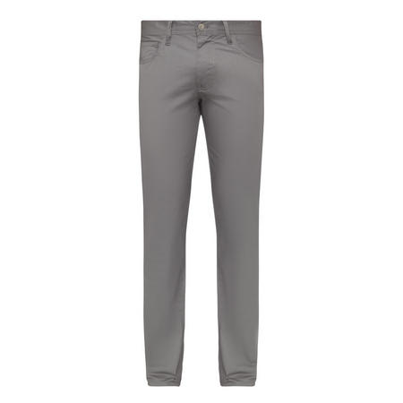 Straight Fit Trousers Grey