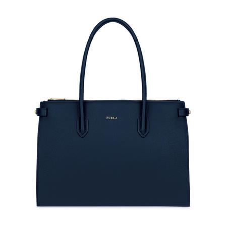 Pin Medium Tote Bag Navy