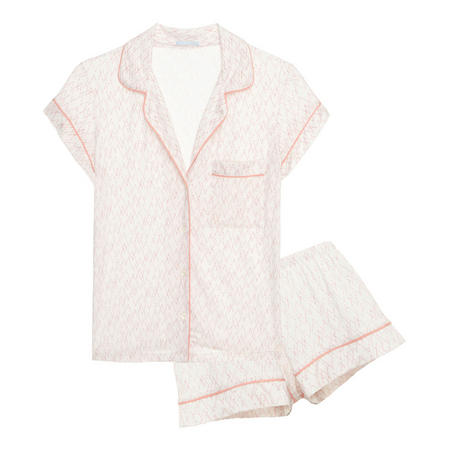 Sweetheart Short Pyjama Set Pink