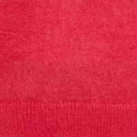 V-Back Mohair Sweater Pink