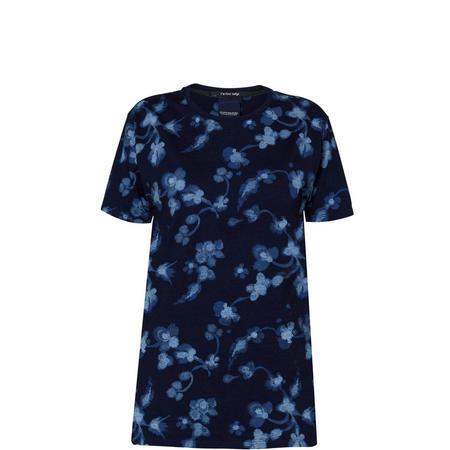 Floral T-Shirt Blue