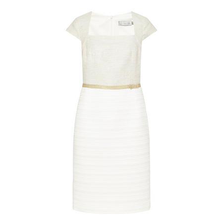 Chanel Tweed Dress Beige